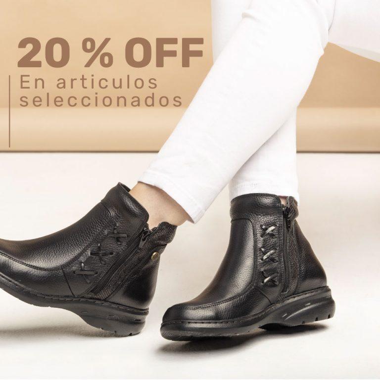 -20% EN ARTÍCULOS SELECCIONADOS